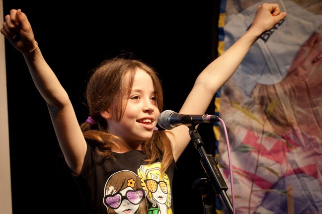 Photo © 2012 Brisbane City Council - Green Heart Schools public speaking competition