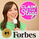 Claim the Stage Named #1 Inspiring Podcast on Forbes.com