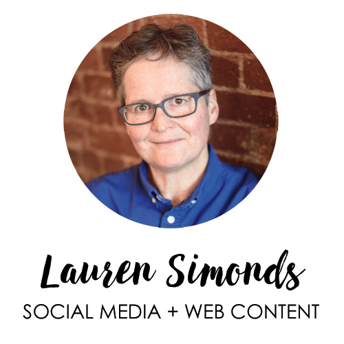 Lauren Simonds, Social Media + Web Content