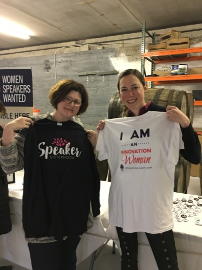 speakuptour2018-bobbie-carlton-innovationwomen-angela-lussier-speakersisterhood