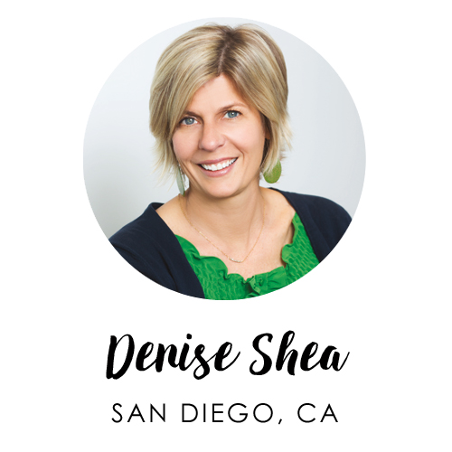 Denise Shea, San Diego, California